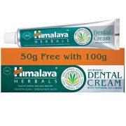 Himalaya Ajurvédikus fogkrém természetes fluoriddal 100 + AJÁNDÉK 50g (szépséghibás)