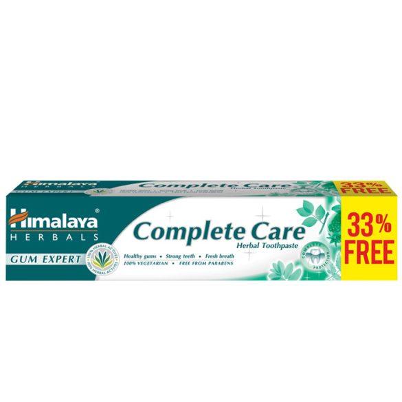 Himalaya Complete Care teljes körű védelmet biztosító gyógynövényes fogkrém 75+25ml (szépséghibás)