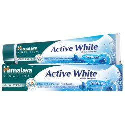 Himalaya Active White fogfehérítő, frissítő fogkrém gél 75ml (szépséghibás)