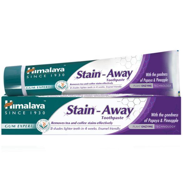 Himalaya Stain Away folteltávolító és fogfehérítő gyógynövényes fogkrém 75ml (szépséghibás)
