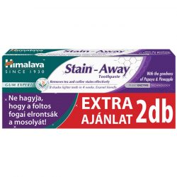 Himalaya Stain Away folteltávolító és fogfehérítő gyógynövényes fogkrém 2x75ml