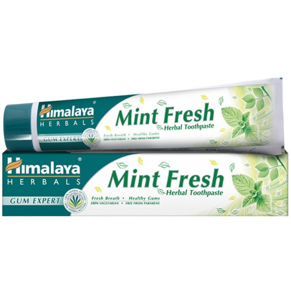 Himalaya Mint Fresh frissítő, mentás gyógynövényes fogkrémgél 75ml (szépséghibás)