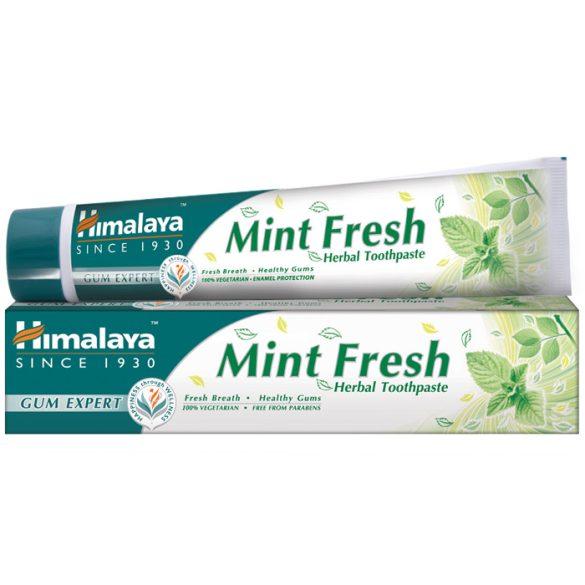Himalaya Mint Fresh frissítő, mentás gyógynövényes fogkrémgél 75ml