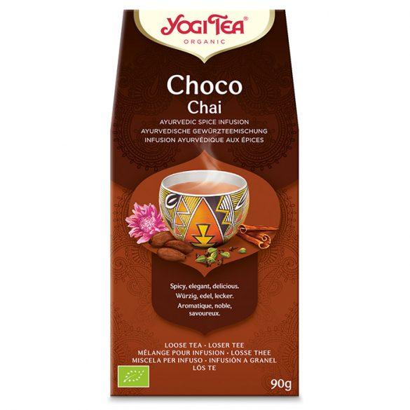 Yogi Tea® Csokoládés chai szálas bio tea 90g