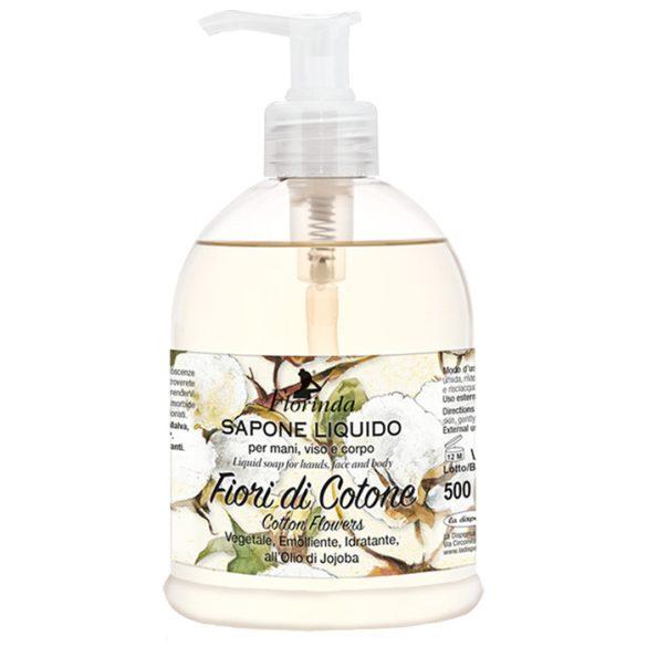 Florinda folyékony szappan - Pamutvirág 500ml