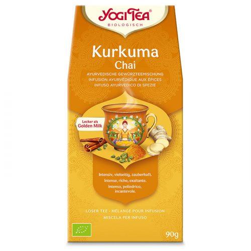 Yogi Tea® Kurkuma szálas chai bio tea 90g
