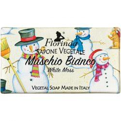 Florinda szappan Merry Xmas - Fehér moha 100g