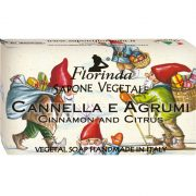 Florinda szappan  - Karácsony - Fahéj és Citrus 100g