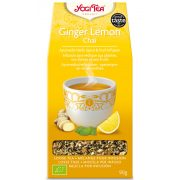 Yogi Tea® Gyömbéres-citromos szálas chai bio tea 90g