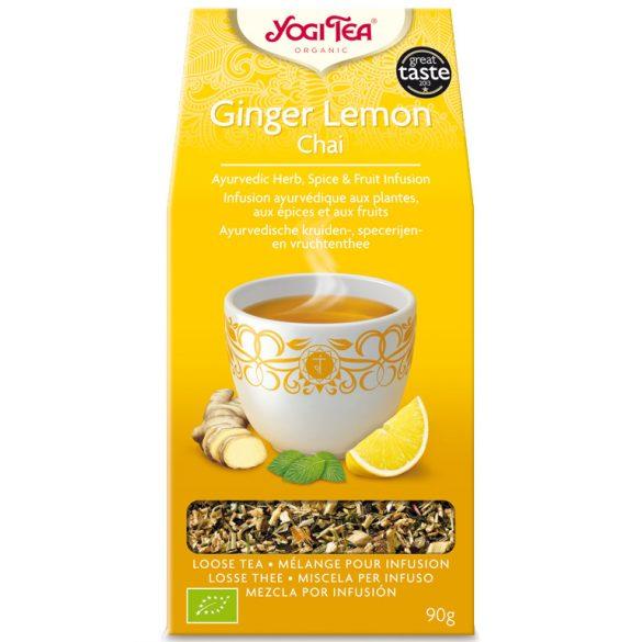 Yogi Tea® Gyömbéres-citromos chai bio tea 90g