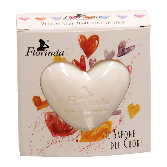 Florinda szív alakú növényi szappan - Hunyor 100g
