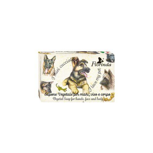 Florinda szappan kisállat - Németjuhász - Calicantus 50g