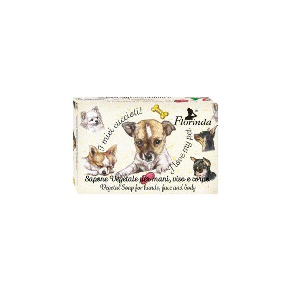 Florinda szappan kisállat - Csivava - Rózsa 50g