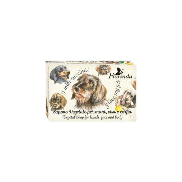Florinda szappan kisállat - Tacskó - Eper 50g