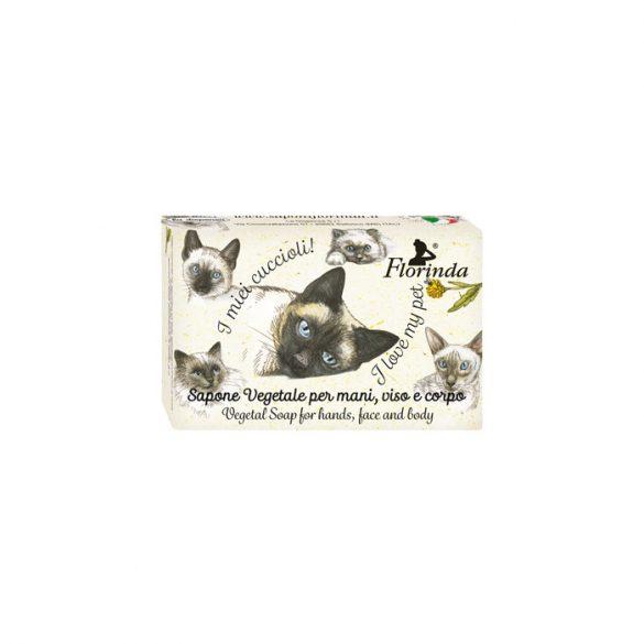 Florinda szappan kisállat - Sziámi Cica - Mandarin 50g