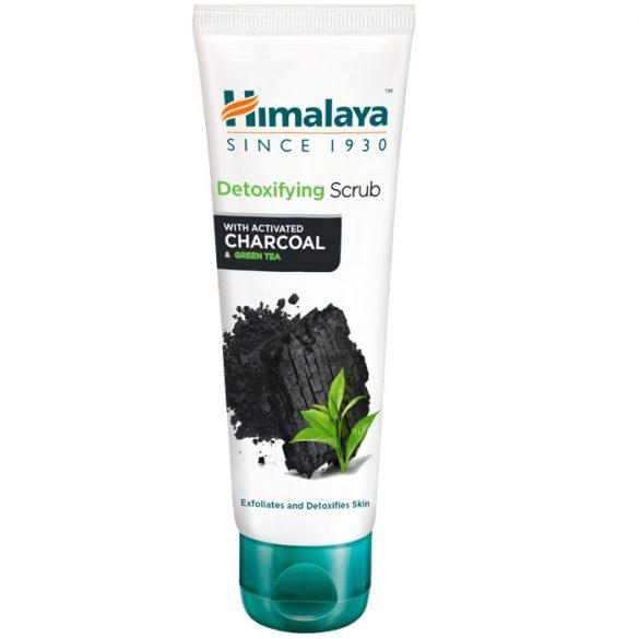 Himalaya Méregtelenítő arcradír aktív szénnel és zöld teával 75ml