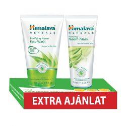 Himalaya Nim Tisztító arclemosó gél 150ml + Nim tisztító arcpakolás 75ml