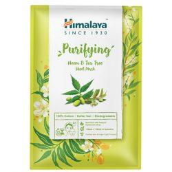 Himalaya Arctisztító textilmaszk nim növénnyel és teafával 30ml