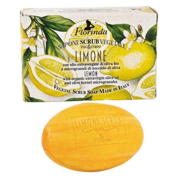 Florinda bőrradírozó szappan - Citrom 200g