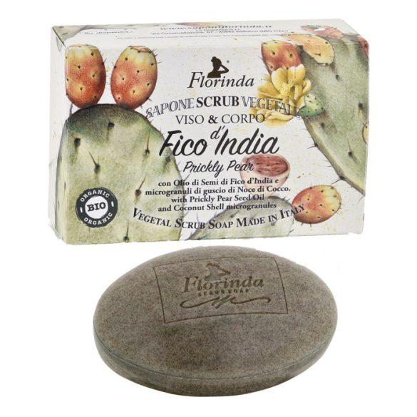 Florinda BIO bőrradírozó szappan - Fügekaktusz 200g