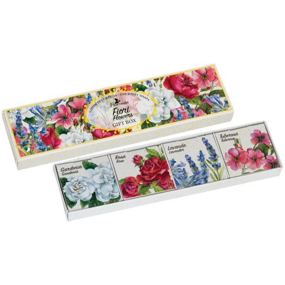 Florinda szett - Vegyes virág szappan 25g x 4db