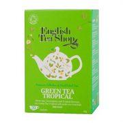 English Tea Shop Zöld tea trópusi bio tea 20 papírfilter