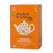 English Tea Shop Gyömbéres Barack tea 20 papírfilter