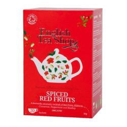 English Tea Shop Fűszeres Piros bio tea 20 papírfilter