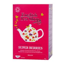 English Tea Shop  Super bogyós bio tea 20 papírfilter