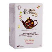 English Tea Shop Gyümölcsös variáció bio tea 20 papírfilter