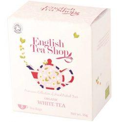 English Tea Shop Bio fehér tea 8 papírfilter