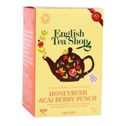 English Tea Shop Mézbokor & acai berry bio tea 20 papírfilter