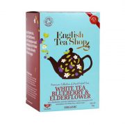 English Tea Shop Fehér tea - Áfonya & Bodza bio tea 20 papírfilter