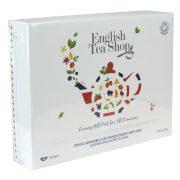 English Tea Shop Luxus ajándék bio tea válogatás Papírdobozos 48 filter