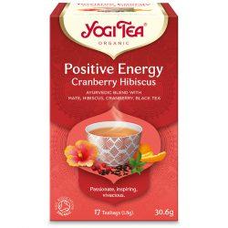 Yogi Tea® Pozitív energia tea tőzegáfonyával és hibiszkussza