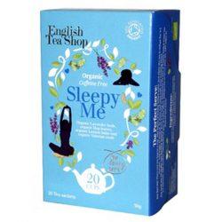 English Tea Shop Wellnes Sleepy Me bio tea 20 papírfilter