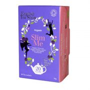 English Tea Shop Wellness Slim Me bio tea 20 papírfilter
