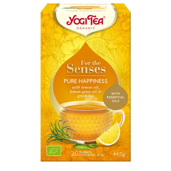 Yogi Tea® Bio tea az érzékeknek - Tiszta boldogság