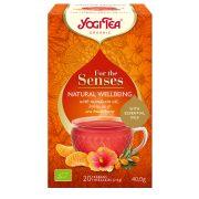 Yogi Tea® Bio tea az érzékeknek - Természetes Jóllét