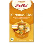 Yogi Tea® Kurkuma chai bio tea (szépséghibás)