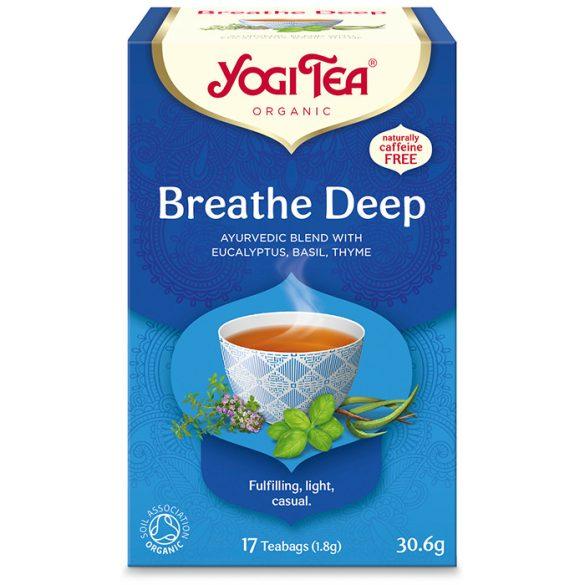 Yogi Tea® Mély lélegzet bio tea (szépséghibás)