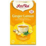 Yogi Tea® Citromos gyömbér bio tea