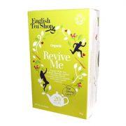 English Tea Shop Wellness Revive Me bio tea 20 papírfilter
