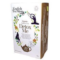 English Tea Shop  Wellness Detox Me bio tea 20 papírfilter