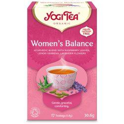 Yogi Tea® Női egyensúly bio tea (szépséghibás)