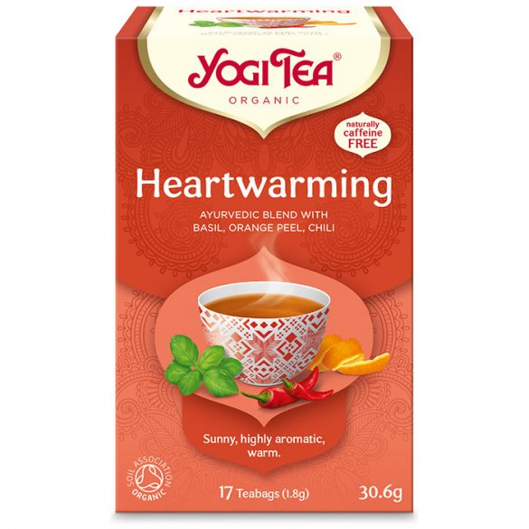 Yogi Tea® Szívmelengető bio tea