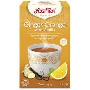 Yogi Tea® Narancsos gyömbér vaníliával bio tea