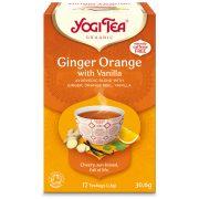 Yogi Tea® Narancsos gyömbér bio tea vaníliával