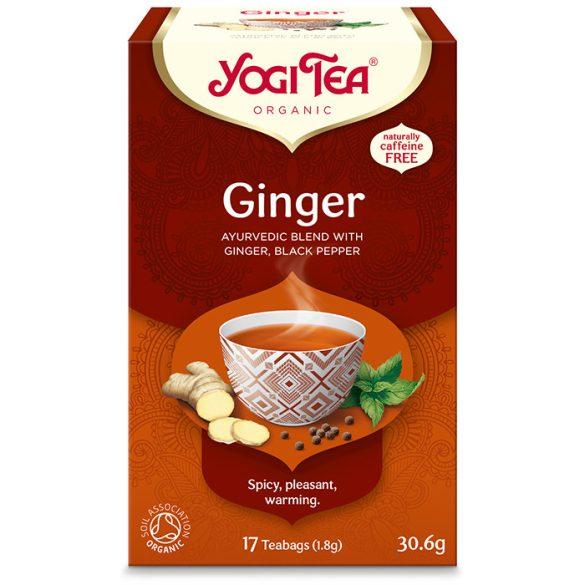 Yogi Tea® Gyömbér bio tea