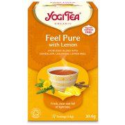 Yogi Tea® Tisztító (méregtelenítő) bio tea citrommal és gyermeklácfűvel